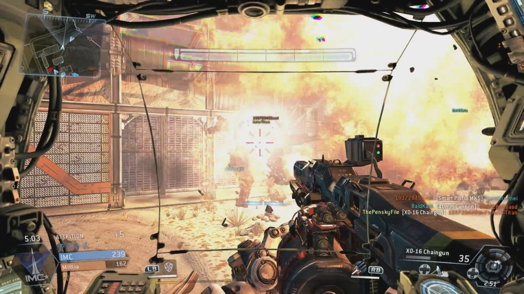 Titan Explosion